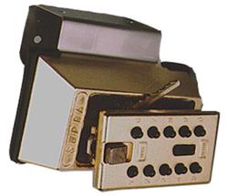 Klíčový trezor s montáží na dveře/zárubně - StrongBox pro 3 klíče - Šedá - 1