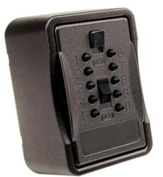 Klíčový trezor - Pro BigBox pro pevnou montáž,s velkým vnitřním prostorem a odolnou úpravou - Černá - 1