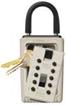 Přenosný klíčový trezor - StrongBox pro 3 klíče - Hnědá - 1