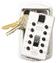 Klíčový trezor - StrongBox SlimLine pro 2 klíče - Bílá - 1/4