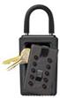 Přenosný klíčový trezor - StrongBox pro 3 klíče - Černá - 1