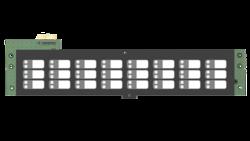 Deska LED indikace zón - 24 zón, menší skříň