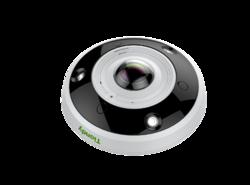 """IP panoramatická kamera s rozlišením 12MP a snímáním """"rybím okem"""""""