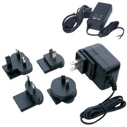 100-240V AC Input 48V DC 0.38Amp 18W Output Power Supply with EU wallplug (0~+50°C ) - 1