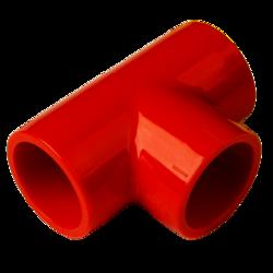 "T-kus pro trubku 25mm - Red - T-union - 3/4"" pipe"