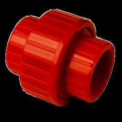 Přímá rozebíratelná spojka pro trubky 25mm - Red - Remov