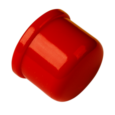"""Ucpávka na konec trubky 25mm - Red - End Cap - 3/4"""" pipe"""