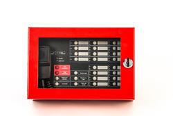 Požární EVAK mikrofon (červený) se 16 tlačítky, montáž n - 1