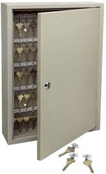 Trezorová skříň - Key Cabinet Pro - se zámkem pro 30 klíčů - Hnědá - 1