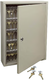 Trezorová skříň - Key Cabinet Pro - se zámkem pro 120 klíčů - Hnědá - 1/3