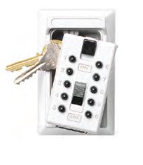 Klíčový trezor - StrongBox pro 5 klíčů - Bílá - 1