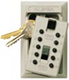 Klíčový trezor - StrongBox pro 5 klíčů - Hnědá - 1/4