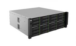 320 kanálové NVR bez portů PoE, rozlišení až 4K, 16 kanálů synchronní přehrávání