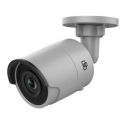 TruVision IP Bullet Camera, H.265/H.264, 8MPX/4K, 4mm Fi - 1