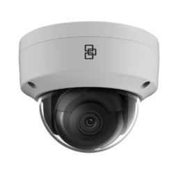 TruVision IP Dome Camera, H.265/H.264, 3MPX, Low Light, - 1