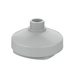TruVision Dome 2 inch Cup Base for IP 365 Wedge