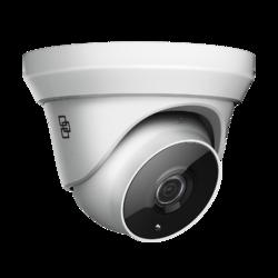 TruVision HD-TVI Analog Turret Camera, 5MPx, 2.8mm lens, - 1
