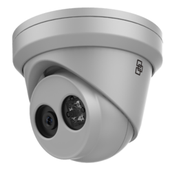TruVision IP Turret Camera, H.265/H.264, 8MPX, 4mm Fixed - 1