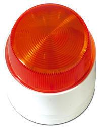 Stroboskopický maják, oranžové světlo, 12V/115mA