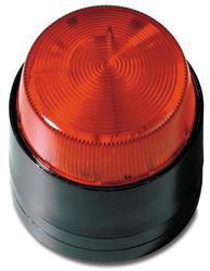 Stroboskopický maják, červené světlo, 12V/115mA