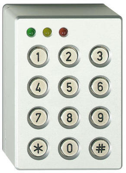 Odolná klávesnice pro ATS, 3x LED, hliníkový kryt