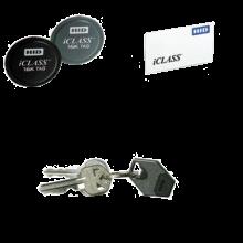 Bezkontaktní karta I-Class, 2 kb, 2 aplikační pole, 50 k