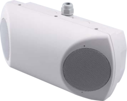 Skříńkový reproduktor, 2x6 W / 100 V, 246x116x100mm, IP3