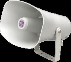 Amplión, plast, ø138x200 mm, 10/5/2,5/1,25 W / 100 V, 40 - 1