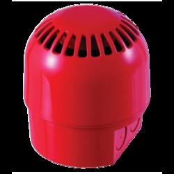 Adresná siréna řady 2000, vícetónová, IP65, červená