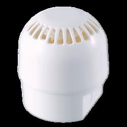 Požární siréna bílá, 24V, 100dB, IP65, vysoká základna