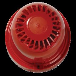 Bezdrátová požární siréna řady 930RF, červená