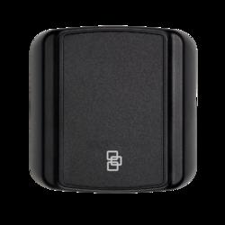 Čtečka Secure ATS karet - čtvercová, na sběrnici ATS, 13,56 MHz, Mifare DESFire EV1 / EV2, šifrovaná AES komunikace s ATSx500, plast