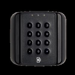Čtečka Secure ATS karet s PIN (zdvihová) - čtvercová, na sběrnici ATS, 13,56 MHz, Mifare DESFire EV1 / EV2, šifrovaná AES komunikace s ATSx500, plast
