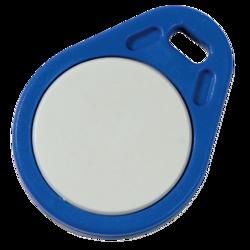 5ks - Mifare přívěšek kulatý modrý pro čtečky Mifare karet