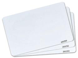 Inteligentní ATS karta, možnost SECURE módu, pvc, bílá, 125 kHz, 10 ks (ATS1475)