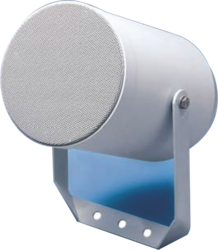 Projektor, plast, ø138x204 mm, 20/10/5/2,5 W / 100 V, 11 - 1