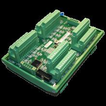 ultraLink 32 relé modul. DIN-rail montáž