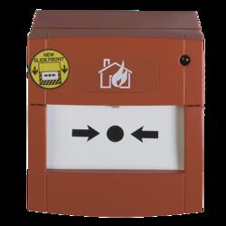 Tlačítkový požární hlásič řady 2000, montážní krabička,