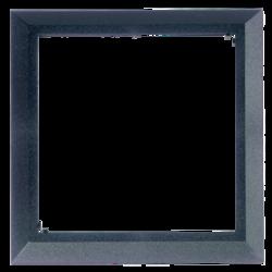 Černý plastový rámeček pro DM, DMN pro montáž na omítku