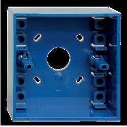 Modrá montážní krabička pro DMN