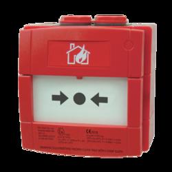 Tlačítkový požární hlásič do prostředí Ex, IP67, červená