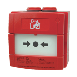 Tlačítkový konvenční požární hlásič, venkovní IP 67