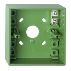 Zelená  montážní krabička pro DMN