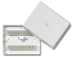 Propojovací krabice 24 svorková + samoochrana