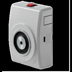 Dveřní magnet 400N,tlačítko, kotevní deska