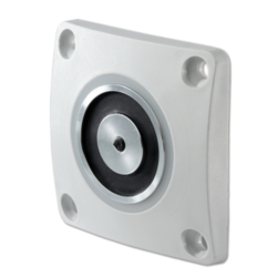 Dveřní magnet 400N,zapuštěná montáž, kotevní deska