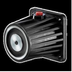 Dveřní magnet 400N,montáž na stěnu, kotevní deska, tlač