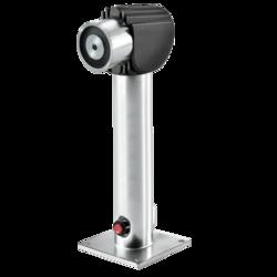 Dveřní magnet 400N,nastavitelná montáž na podlahu a stě