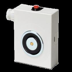 Dveřní magnet, vyztužený plastový kryt, VDS magnet (490