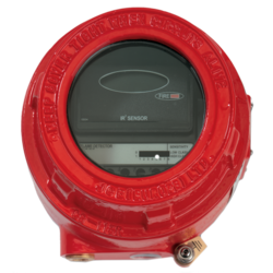 Duální IR hlásič  plamene v ohniodolném kovovém pouzdru